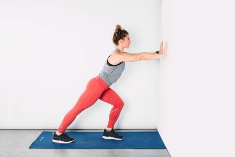 postrun stretches  standing stretches for runners