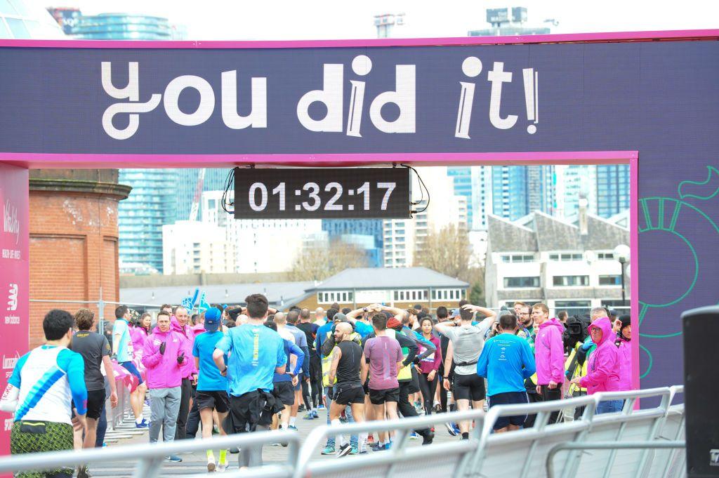 What is a 'good' half marathon time?