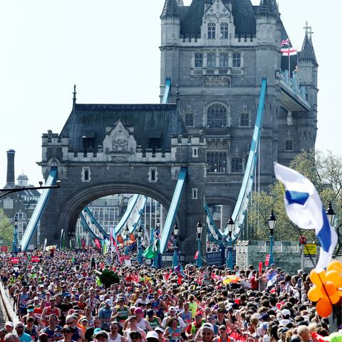 things you can't do at the London Marathon