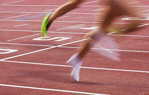 runner's finish times