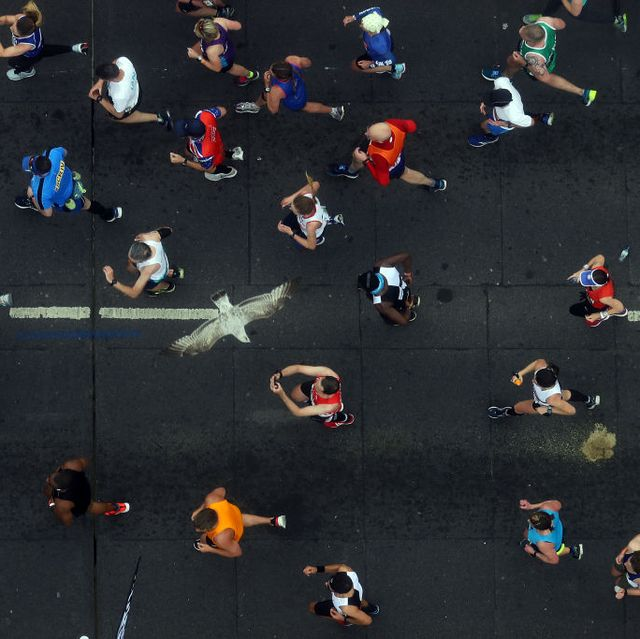 would you run socially distanced marathon