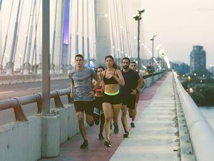 Runners.