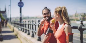 snacks carrera corredores