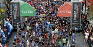 media, maratón, montreal, canadá