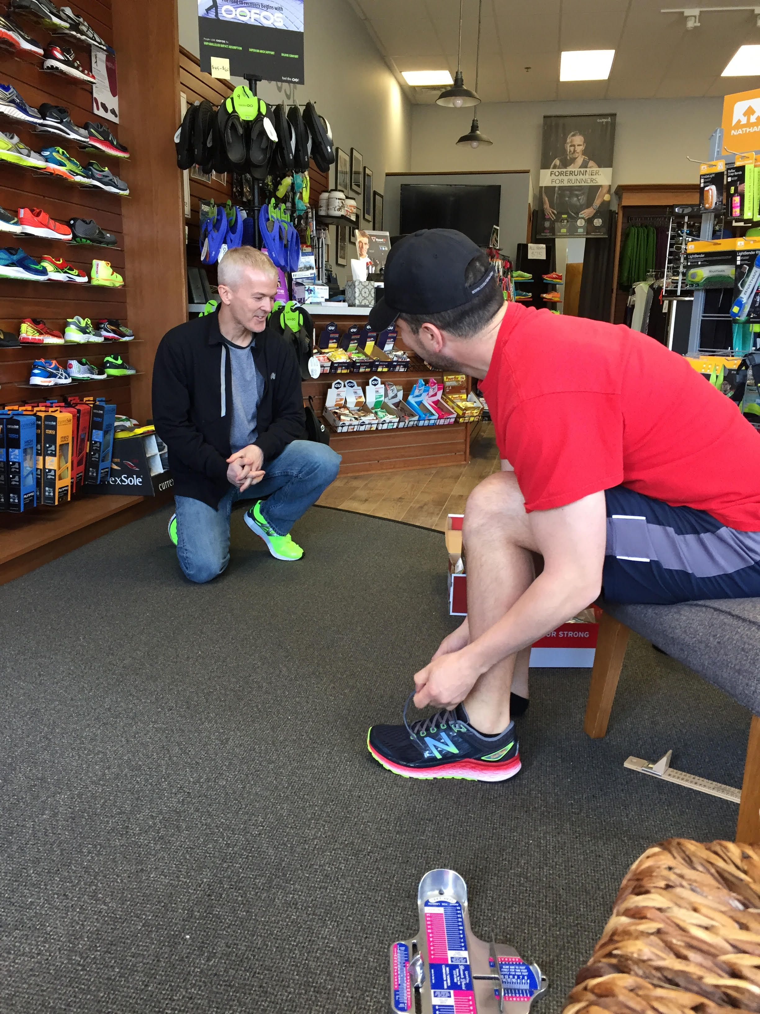 Doctors and Running Shoe Stores Work
