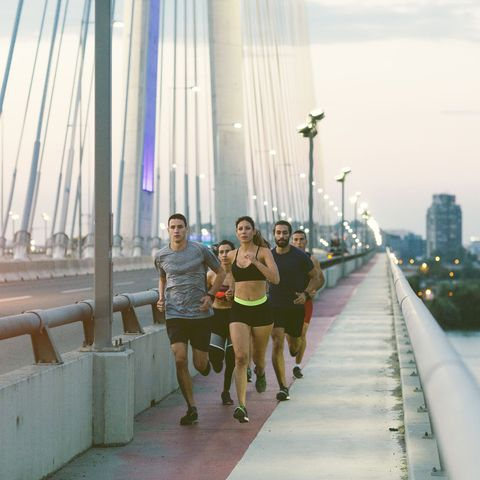 benefits of running in a group
