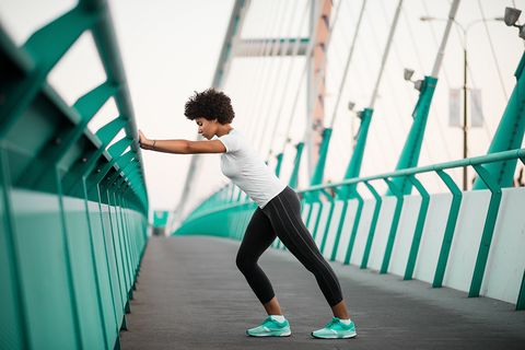 White, Green, Blue, Sportswear, Standing, Footwear, Turquoise, Shoe, Physical fitness, Arm,