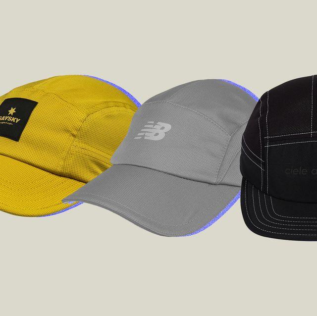 three hats for running