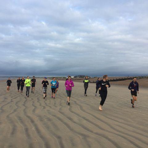 Beach, Sand, Natural environment, Coast, Shore, Mudflat, Sea, Recreation, Ocean, Sky,