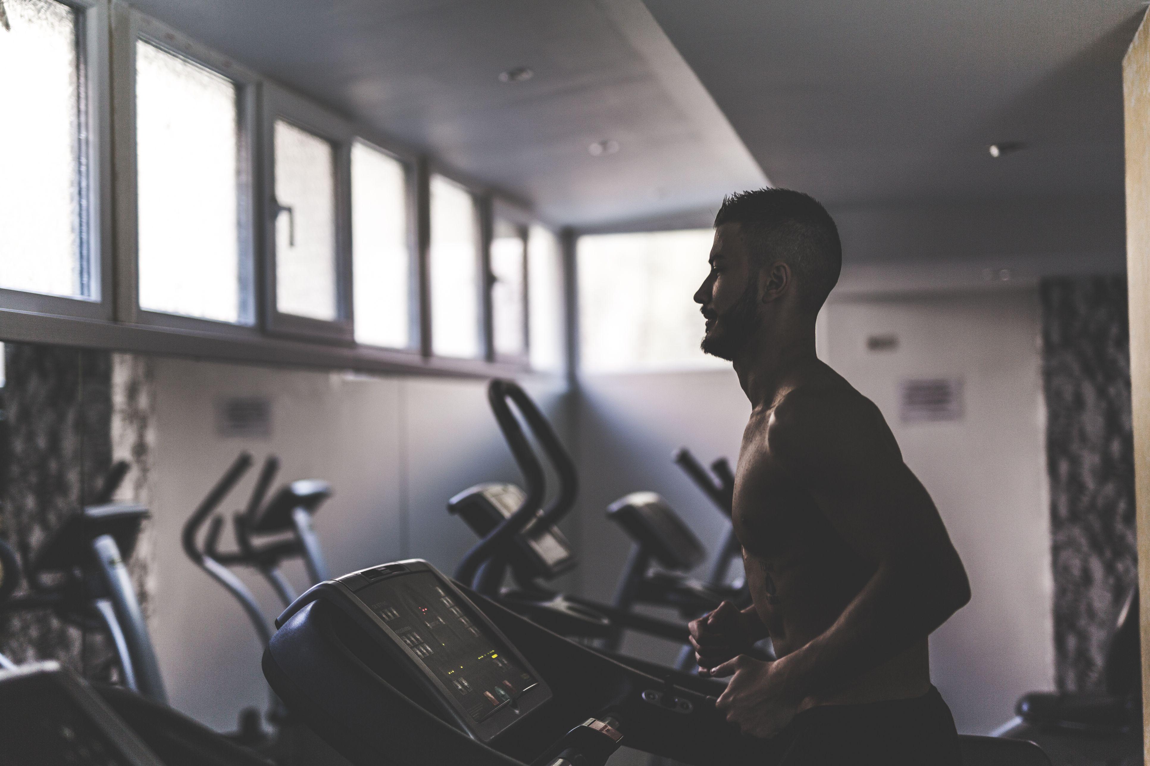 Running on the treademill