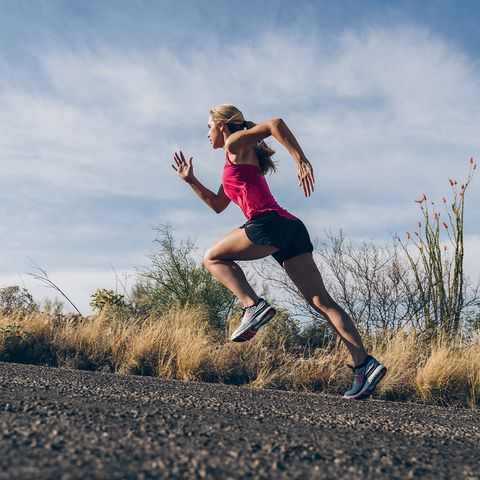 does running build muscle?