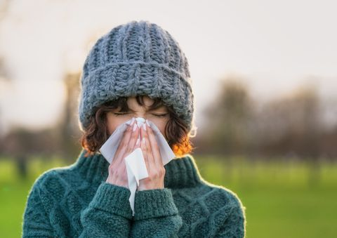 Coping with a winter cold