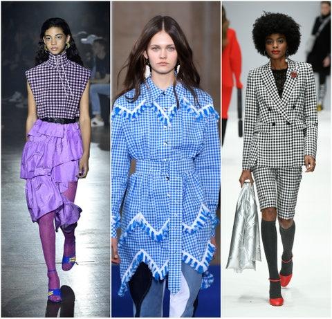 Fashion model, Clothing, Fashion, Runway, Pattern, Footwear, Electric blue, Design, Street fashion, Pattern,