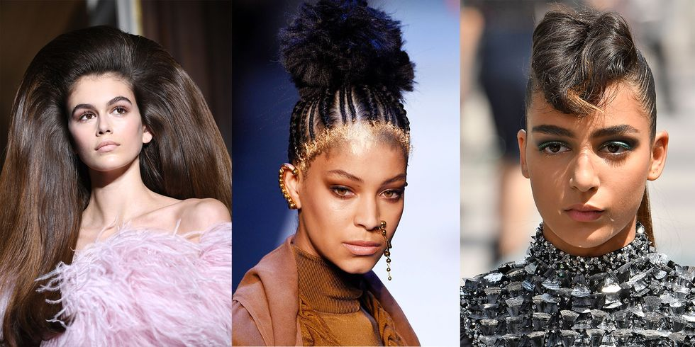 Let These Runway Hairstyles Inspire Your Halloween Costume