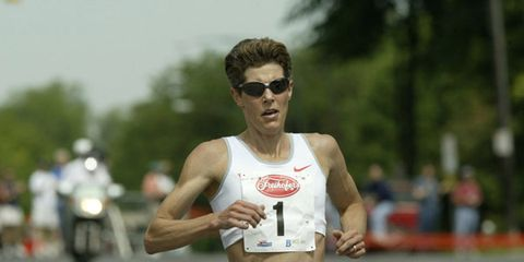 Marla Runyan at 2004 Freihofer's Run for Women