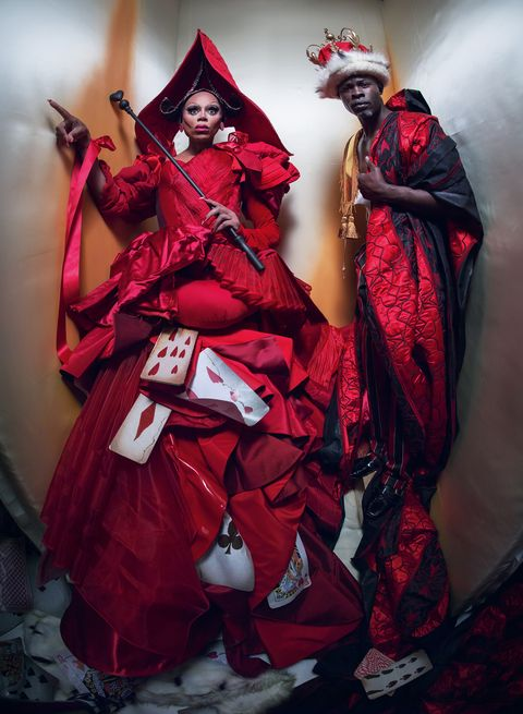 Red, Costume, Fashion, Cosplay, Outerwear, Costume design, Tradition, Masque, Fictional character,
