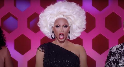 rupaul in rupaul's secret celebrity drag race