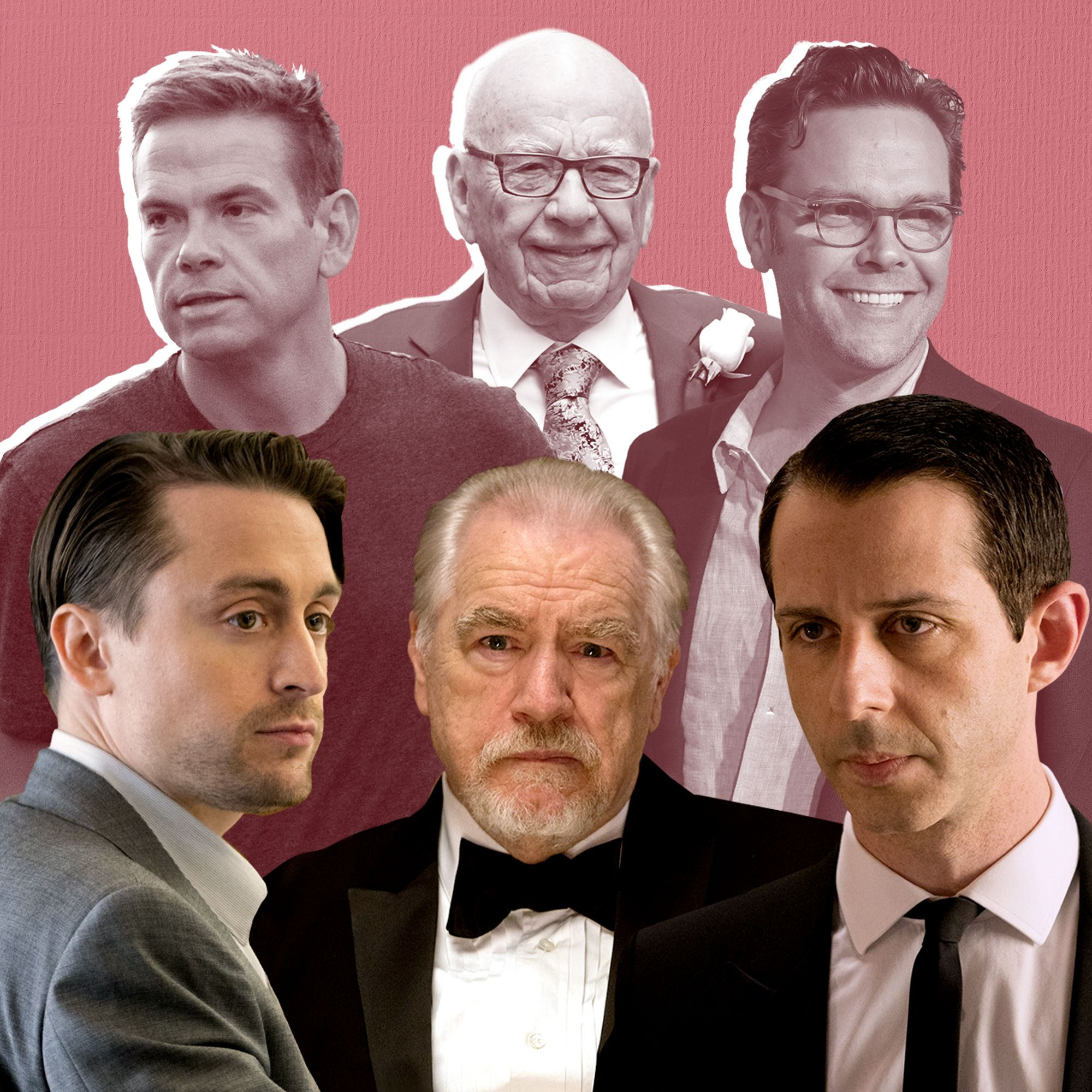 "Rupert Murdoch's Family Watches ""Succession"""