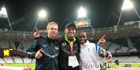 Rupp Salazar Farah Olympics 2012