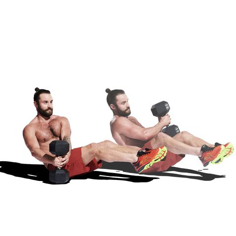 Human body, Elbow, Human leg, Wrist, Chest, Physical fitness, Knee, Trunk, Sitting, Barechested,