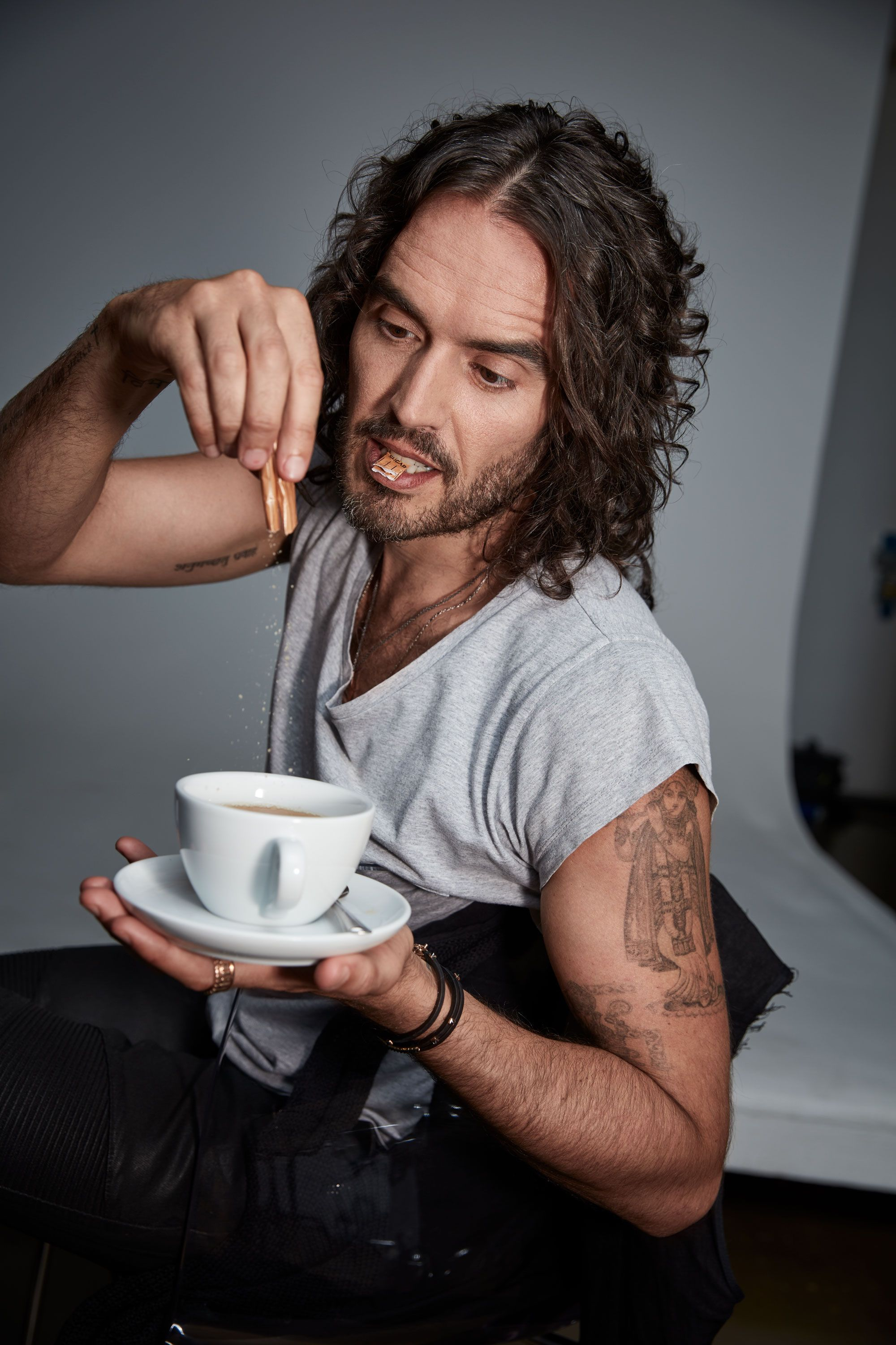 Russell Brand Explains How to Become a Brand-New You