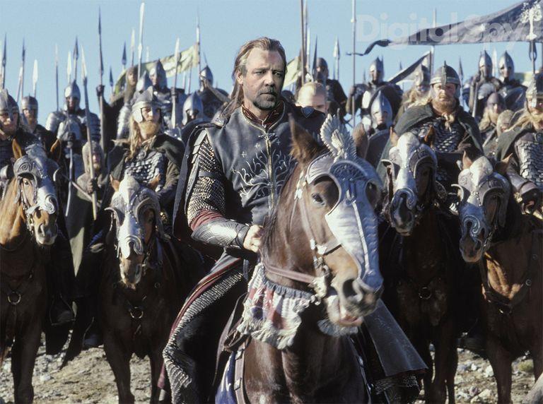 Russell Crowe Aragon El señor de los anillos