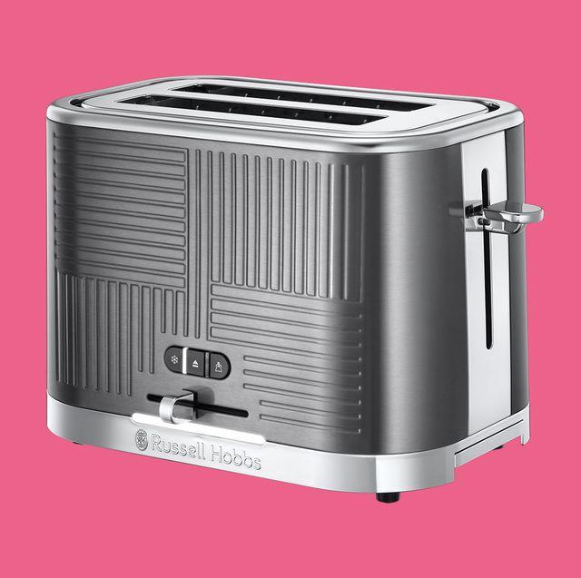 russell hobbs 25250 geo steel 2 slice toaster review