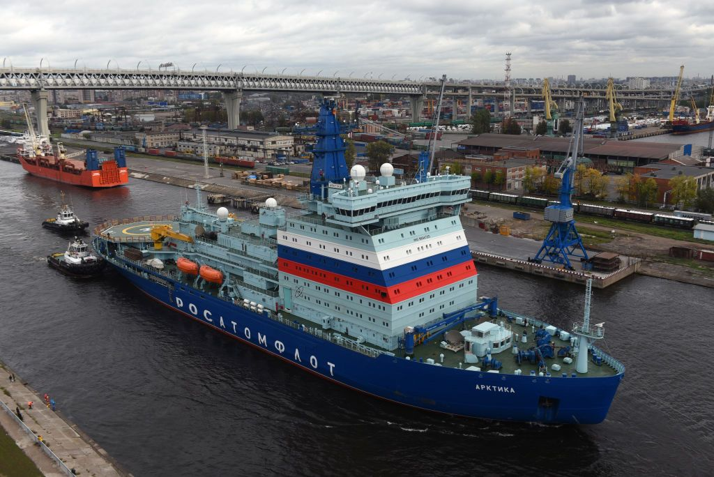Russia's Nuclear-Powered Icebreaker Is a Step Toward Military Domination