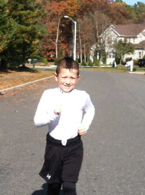 5-Year-Old Runs 26:43 5K