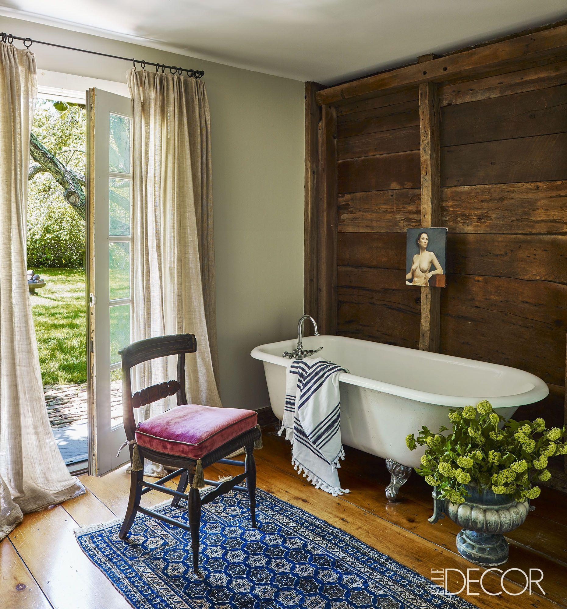 20 Ideas For Rustic Bathroom Decor