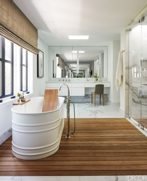Rustic Bathroom With White Shiplap: 20 Ideas For Rustic Bathroom Decor