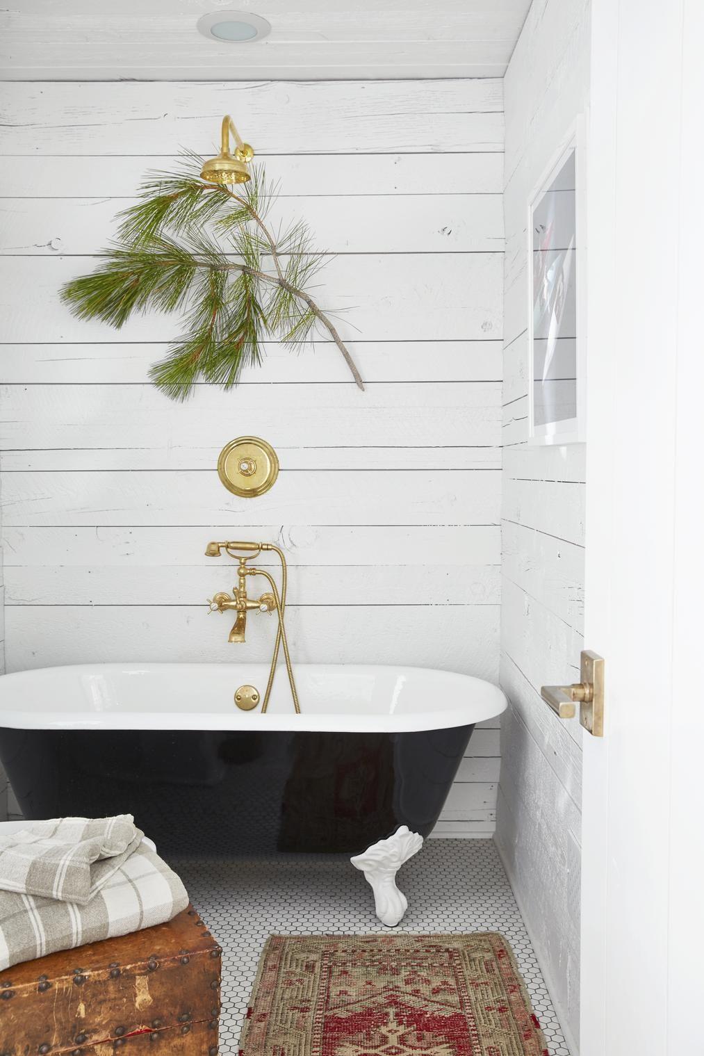 47 Rustic Bathroom Decor Ideas - Rustic Modern Bathroom Designs