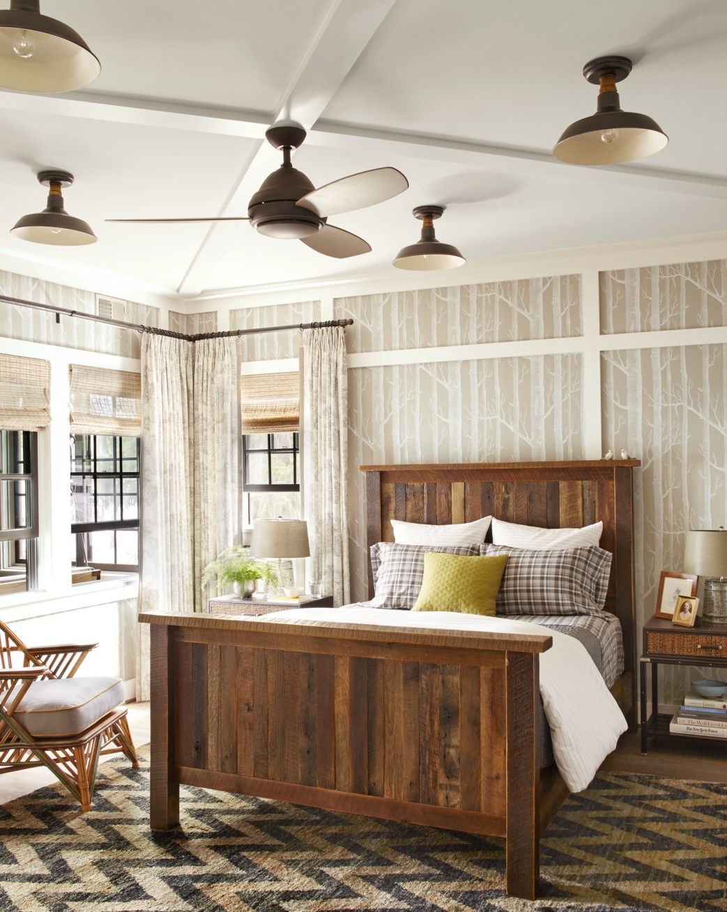 4 Rustic Bedroom Ideas - Rustic Decorating Ideas