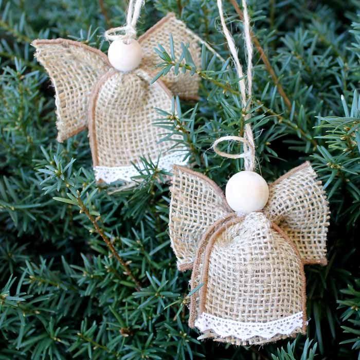 15 DIY Angel Ornaments - Easy Angel Christmas Ornament Ideas