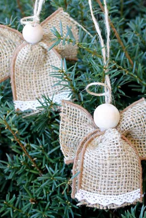 15 Diy Angel Ornaments Easy Angel Christmas Ornament Ideas