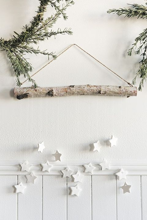 rustic christmas decorations wall hanging