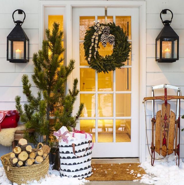 26 Rustic Christmas Decorations 2020 Best Farmhouse Christmas Decor