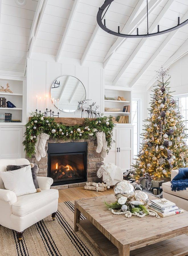 20 Rustic Christmas Decorations 2019 , Best Farmhouse