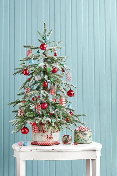 Vintage Tin Rustic Christmas Trees