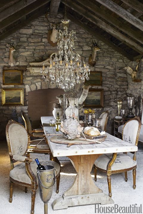 28 Simple Dining Room Ideas For A Stunning Inspiration: 15 Rustic Dining Room Ideas