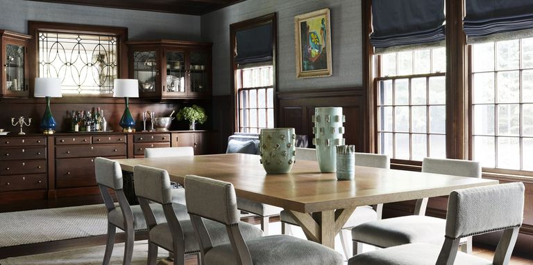 rustic dining room