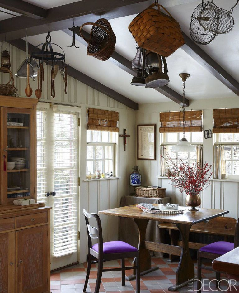 Rustic Dining Room Decor: Farmhouse Style Dining Room