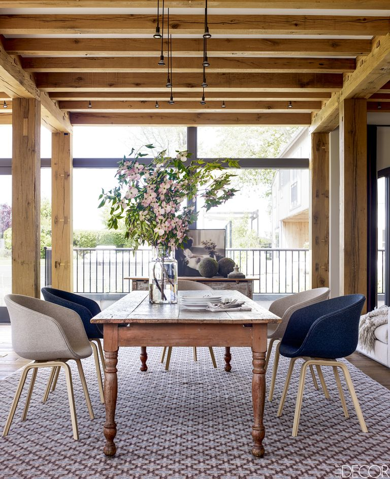 12 Rustic Dining Room Ideas: Farmhouse Style Dining Room