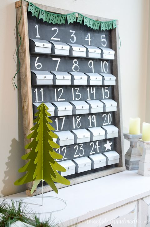 Calendar Gift Ideas For Girlfriend : Diy advent calendar ideas homemade christmas