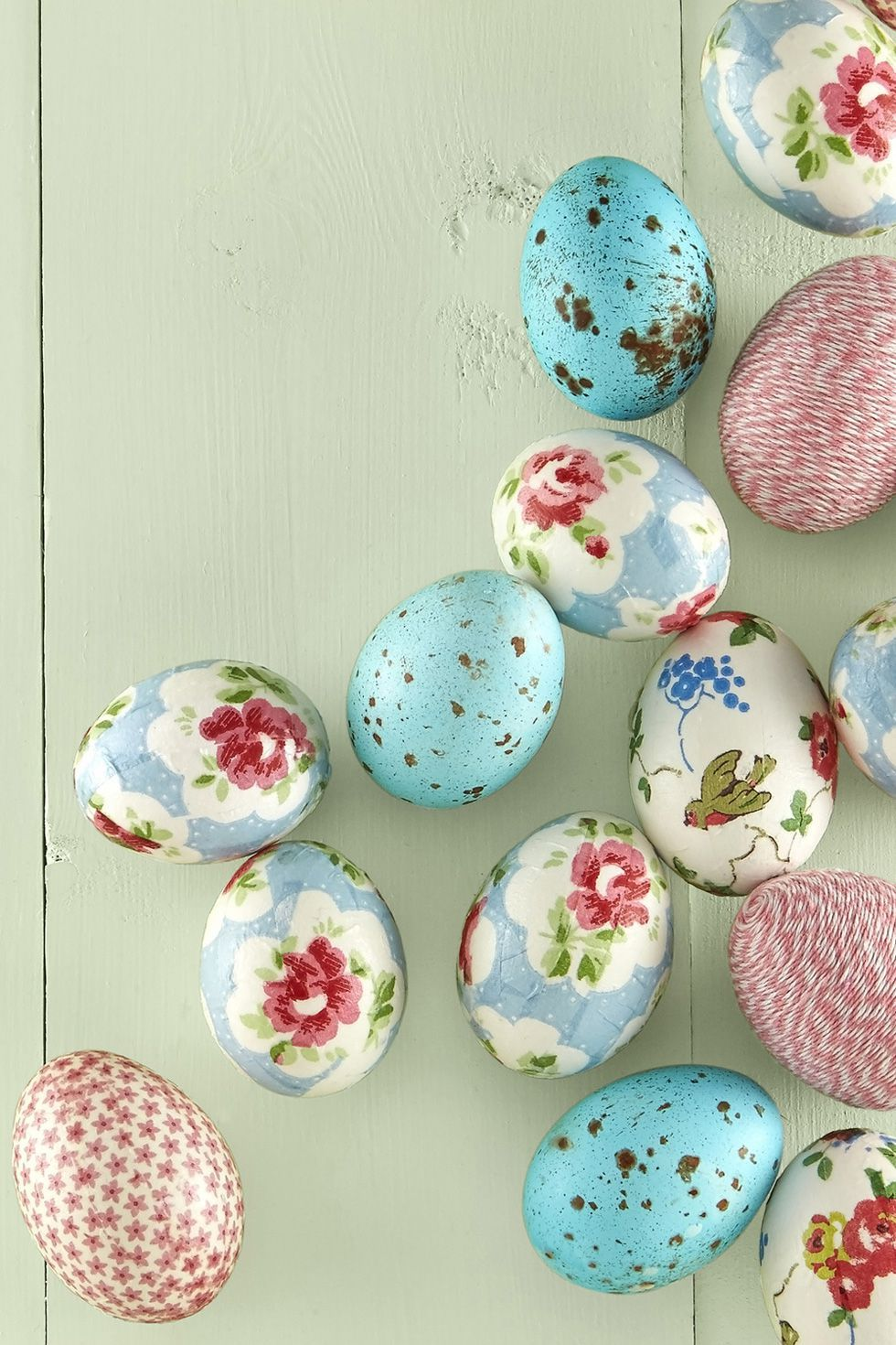 creative rustic easter egg decorations