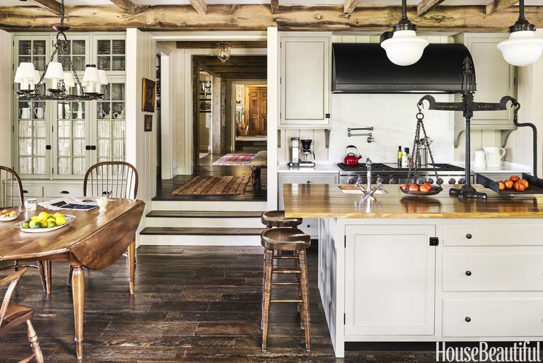 15 best rustic kitchens modern country rustic kitchen for Imagenes de cocinas rusticas