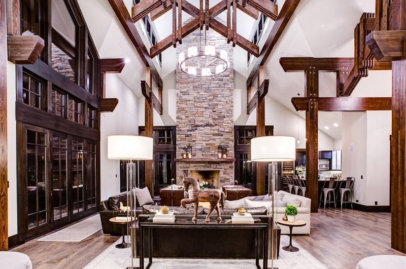 rustic sitting room ideas