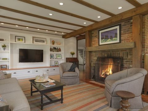 35 Best Rustic Living Room Ideas - Rustic Decor for Living ... on Traditional Rustic Decor  id=50499