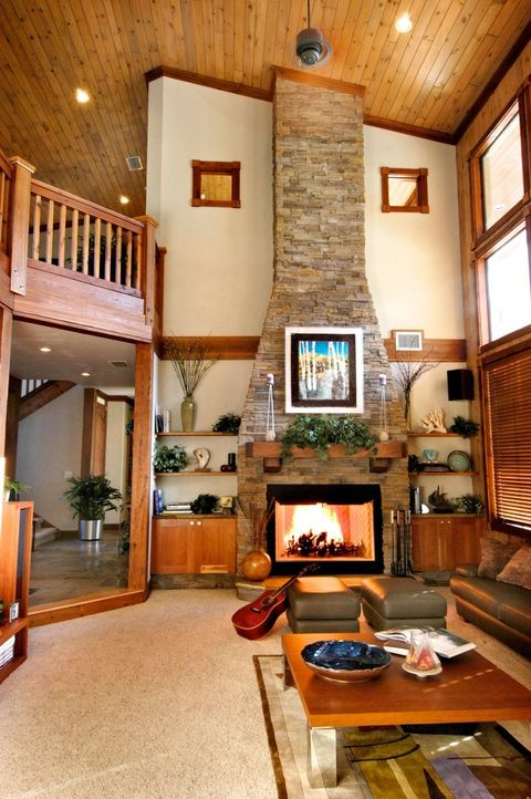 24 best rustic living room ideas rustic decor for living rooms for Small living room rustic decorating ideas