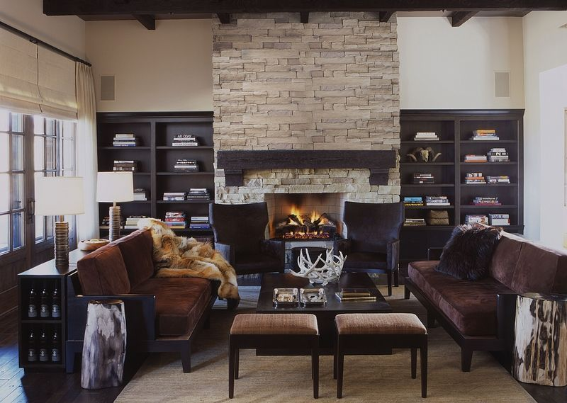 35 Best Rustic Living Room Ideas